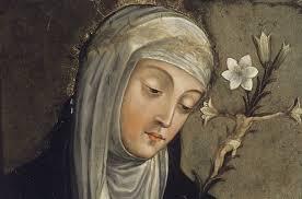 Święta Katarzyna ze Sieny, dziewica i doktor Kościoła patronka Europy (29.04.2018)