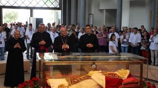 Ciało św. Jana XXIII wraca do Watykanu  (11.06.2018)