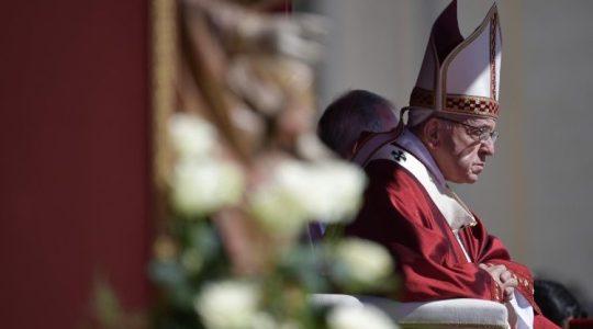 Papież do arcybiskupów podczas uroczystości wręczenia paliuszy ( Vatican Service News - 30.06.2018)