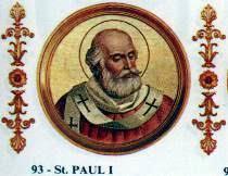 Święty Paweł I, papież (28.06.2018)