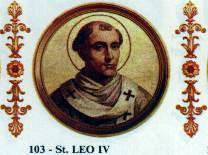 Święty Leon IV, papież (17.07.2018)