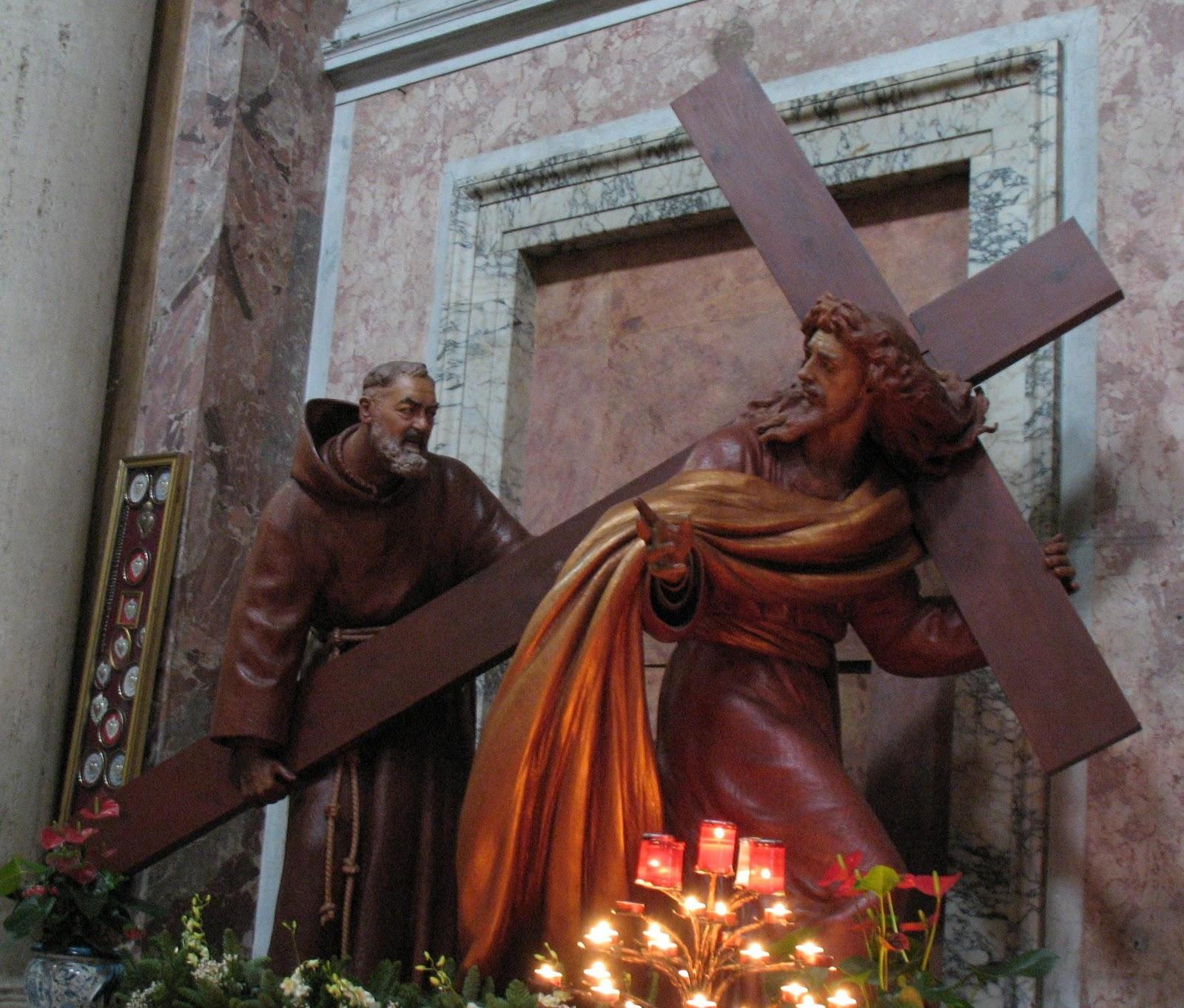 Una famiglia raggiunta da Padre Pio