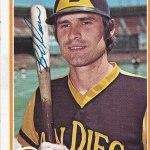 Padres Catcher, Bob Davis, 1978 Topps