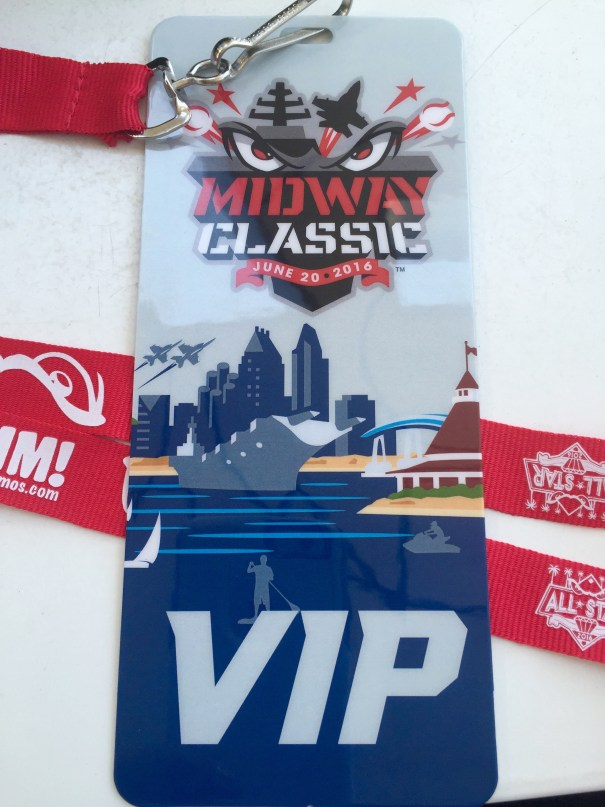 VIP Ticket to the Midway Classic