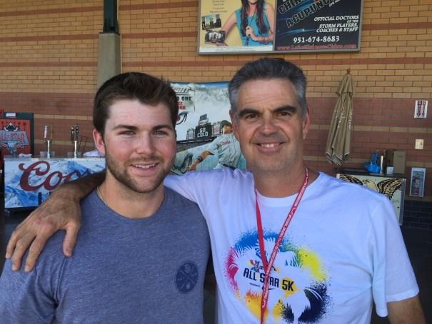 Michael Gettys and Wayne McBrayer, Padres360