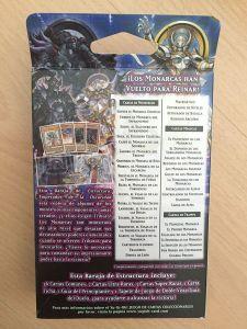 Yu-Gi-Oh Emperador de la oscuridad cartas incluidas