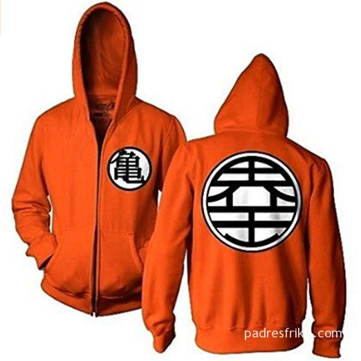 sudadera dragon ball