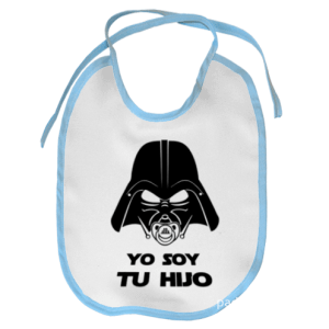 babero star wars