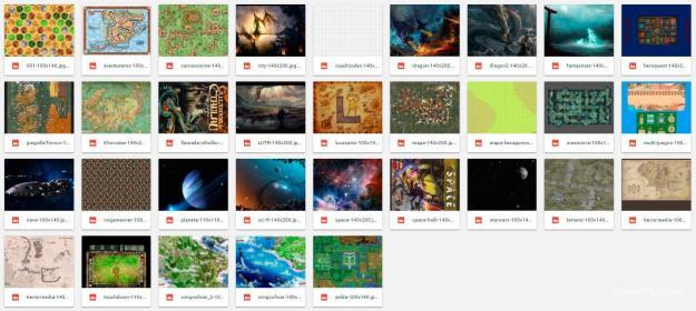 Diseños y mapas frikis