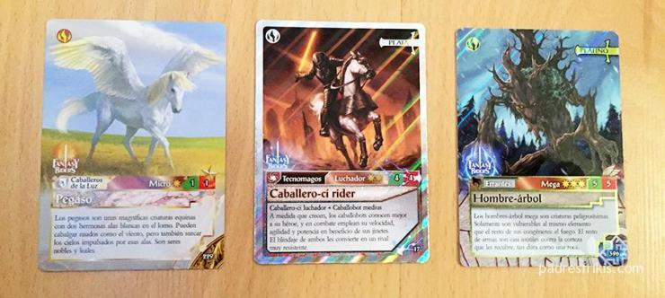 Héroes y Criaturas en Fantasy Riders