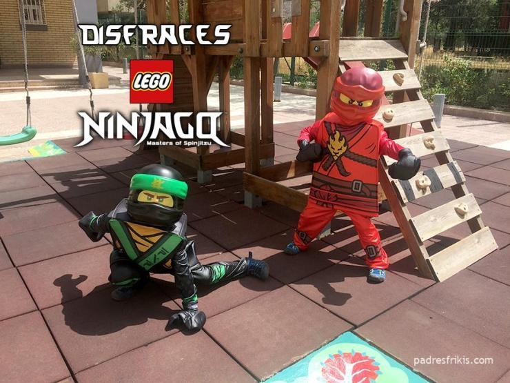 Disfraces de LEGO Ninjago para niños
