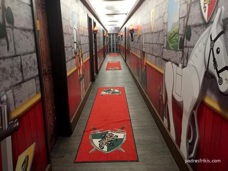 Hotel Castillo en Legoland Alemania