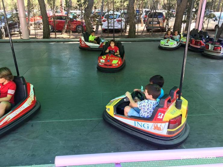 Autos de choque Parque Atracciones Zaragoza