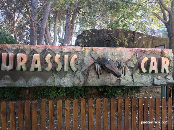 Jurassic Car Parque Atracciones Zaragoza
