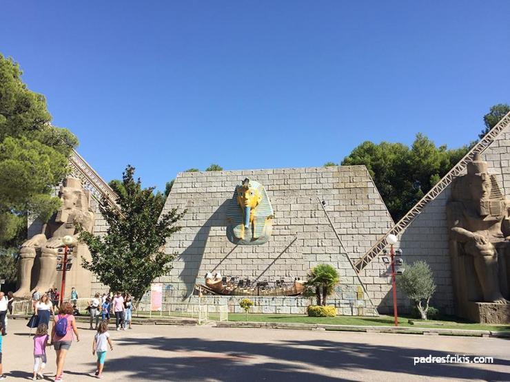 Ramsés Parque Atracciones Zaragoza