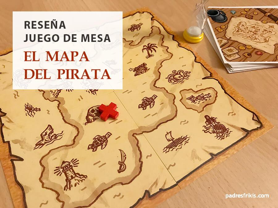 Resena El Mapa Del Pirata De Tranjis Games Padres Frikis