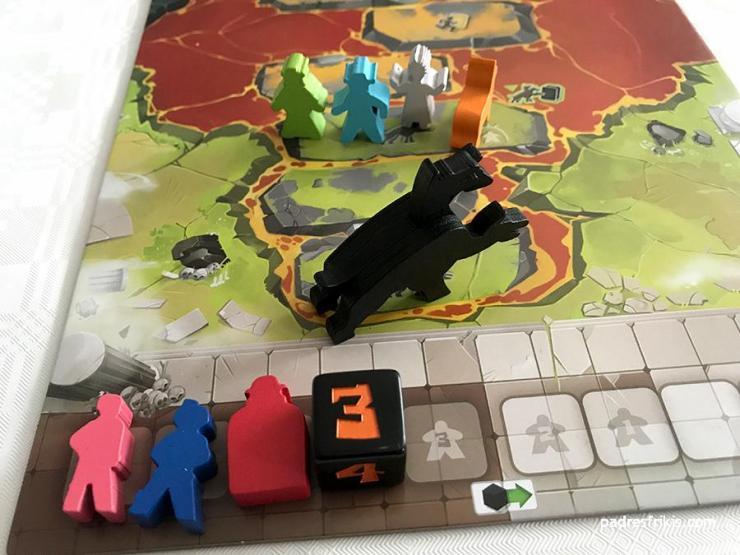 Preparación partida 4 jugadores