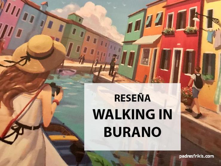 Walking in Burano juego de mesa