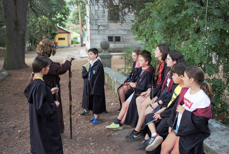 Campamento Mágico Harry Potter en Madrid