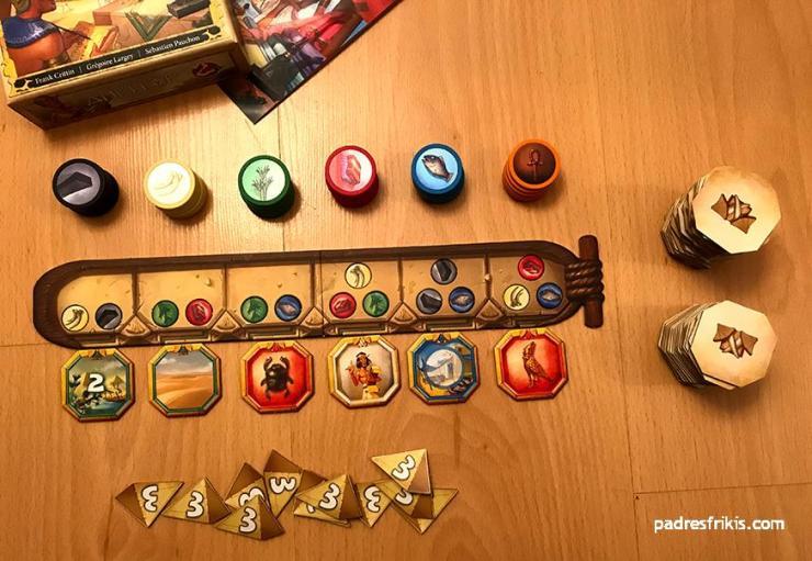 Preparativos Ankh'or juego