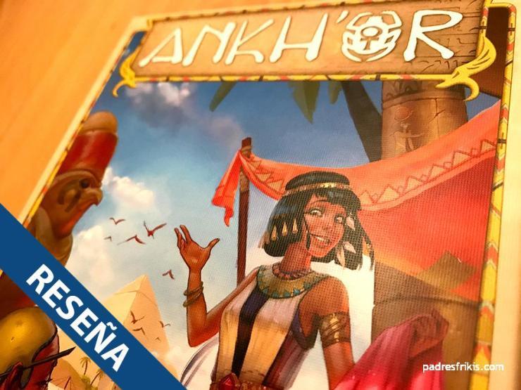 Reseña del juego de mesa Ankh'or