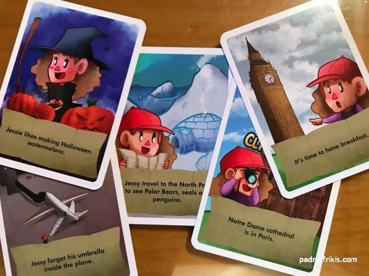 Algunas cartas de Jessie the tourist
