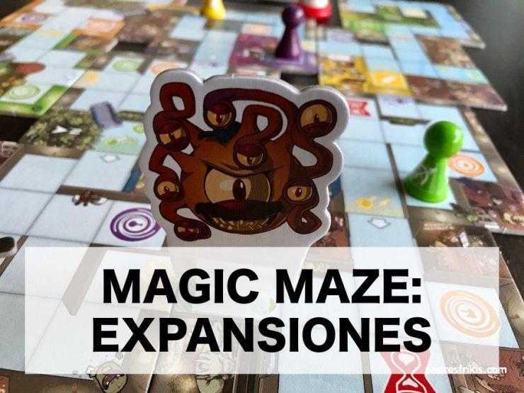 Expansiones Magic Maze