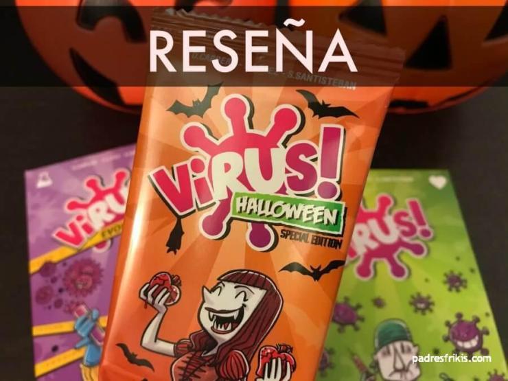 Reseña Virus Halloween juego de mesa Tranjis