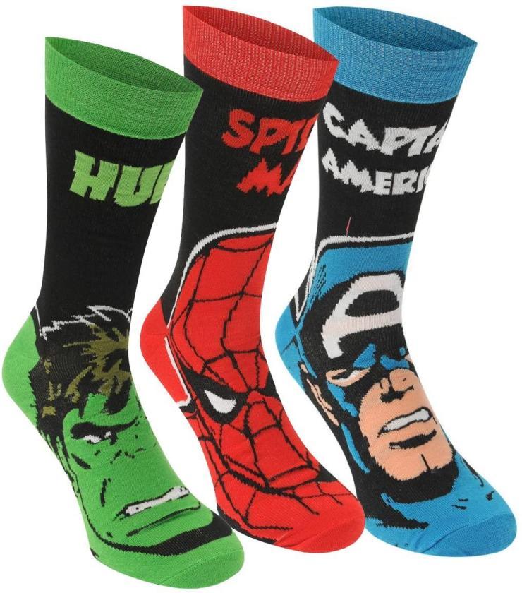 calcetines adulto superheroes