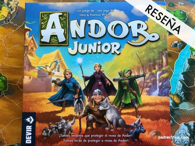 Reseña de Andor Junior juego de mesa