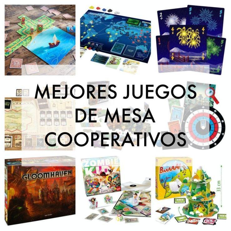 Mejores juegos de mesa cooperativos