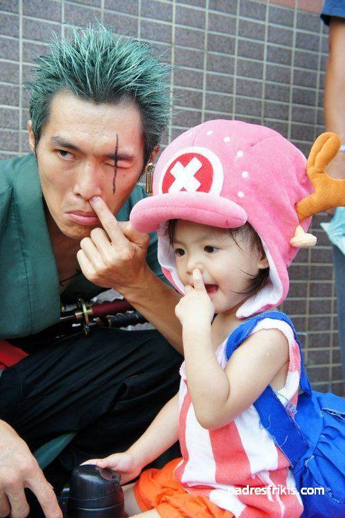 cosplay padre e hija