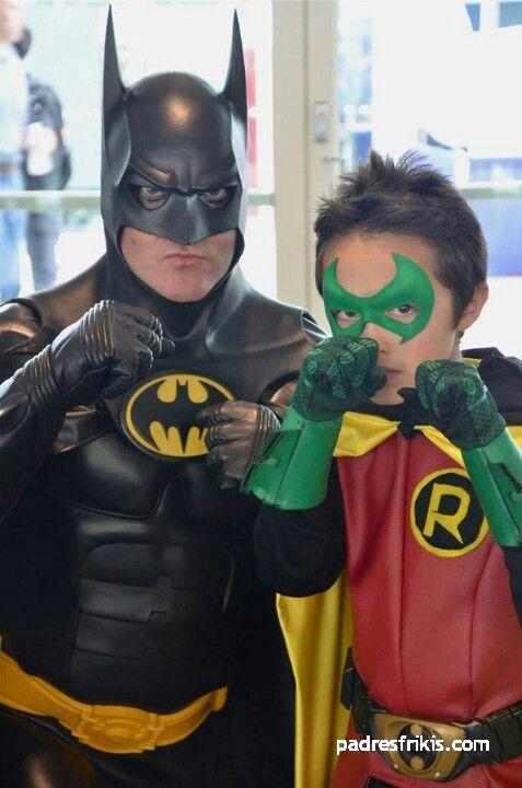 disfraz batman y robin