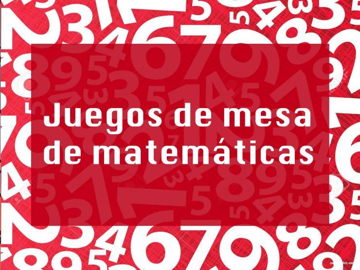juegos de mesa de matemáticas