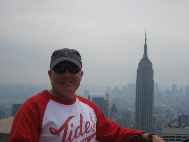 steve on top of the rock