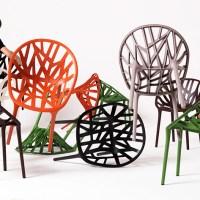 Vegetal Chair de Ronan y Erwan Bouroullec.