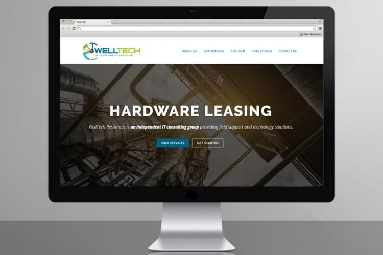 WellTech Resources Website Design
