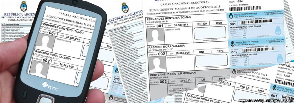 Ya se pueden consultar los padrones de San Juan en la app del gobierno