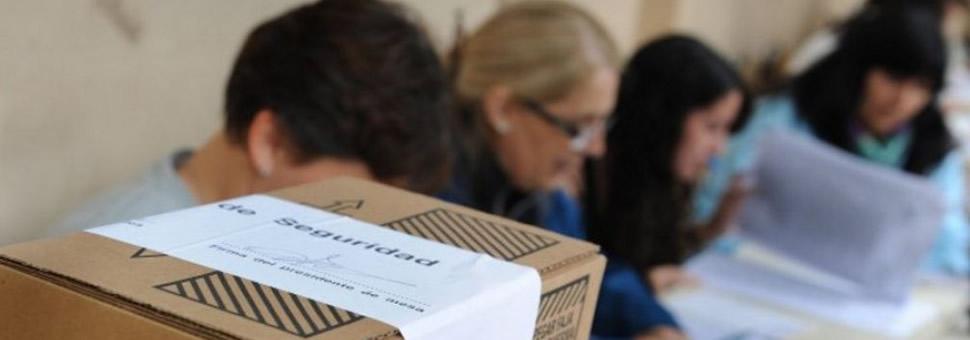 Autoridades de mesa Salta : inscripción cursos Capacitación