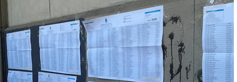 CABA : Por colegios tomados y las milongas cerradas hubo cambios en lugares de votación