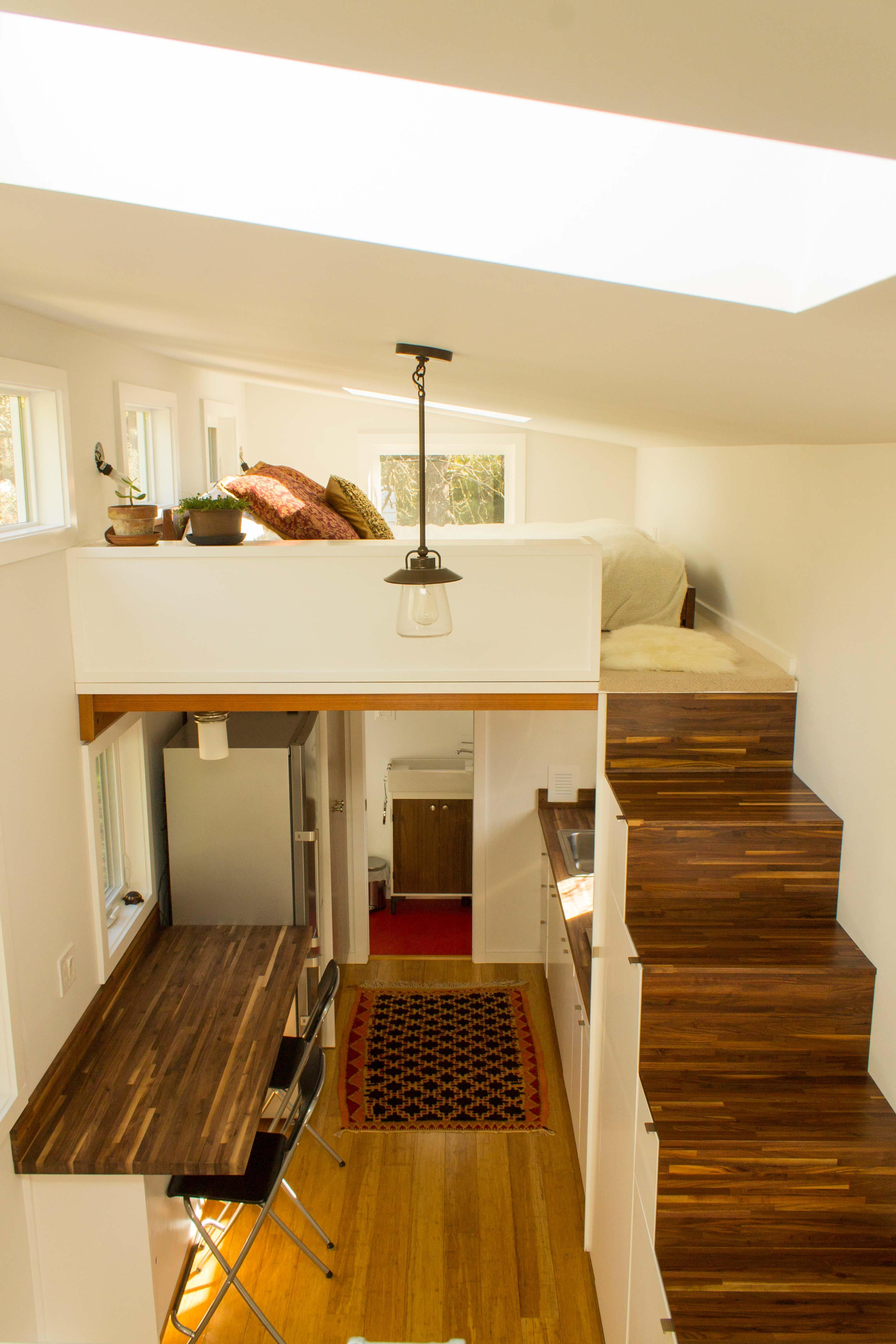 Best Kitchen Gallery: The Hikari Box Tiny House Plans Padtinyhouses of Efficient Home Loft Design on rachelxblog.com