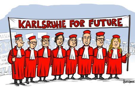 Verfassungsrichter-Karikatur