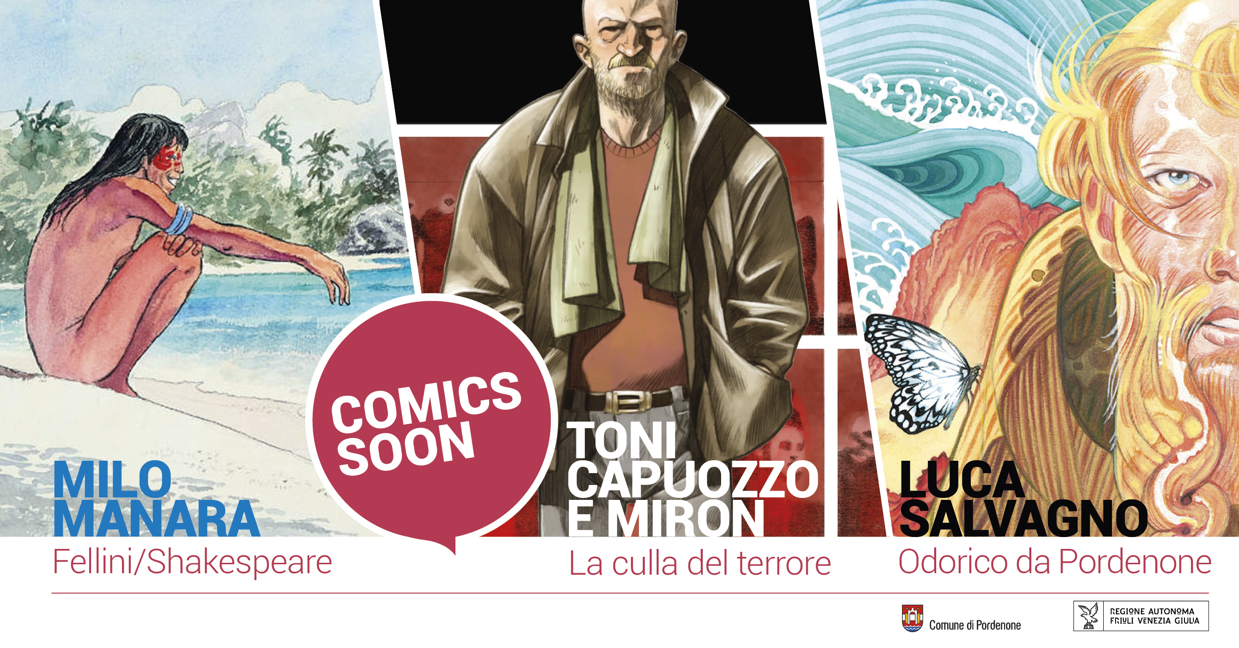 COMICS SOON al PAFF!