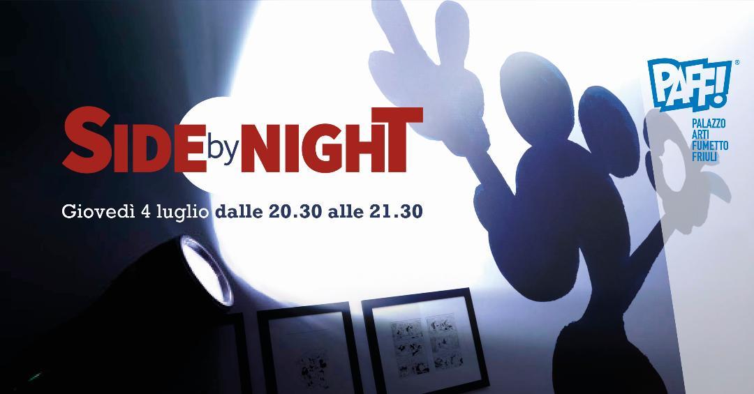 "Notte al museo ""Side by Night"""