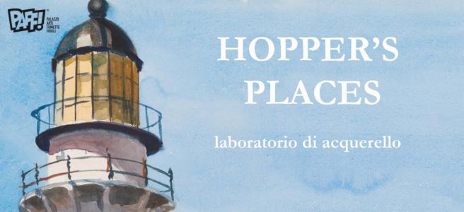 Hopper's places - Laboratorio di acquerello
