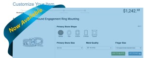 Custom Design Engagements Rigns and Wedding Bands Online