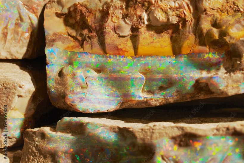 Raw Opal Bands