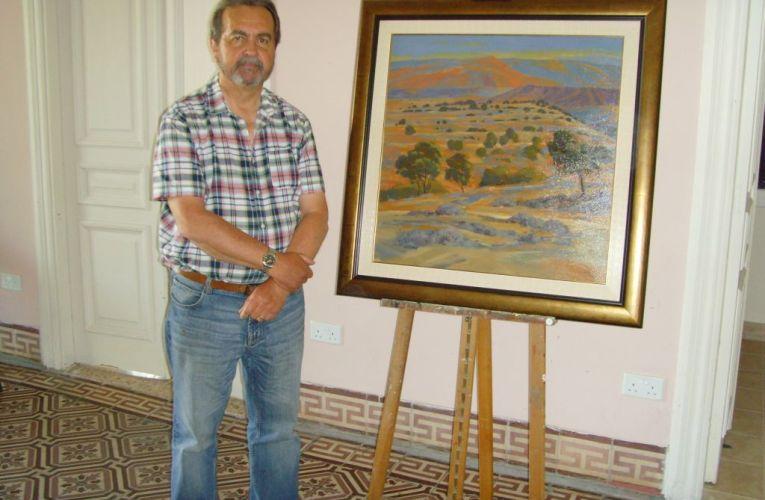 J. Warren: Έκθεση Ζωγραφικής με θέμα το κυπριακό τοπίο