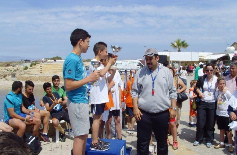 Με τη συμμετοχή πέραν των 1000 αθλητών πραγματοποιήθηκε ο γύρος της Πάφου
