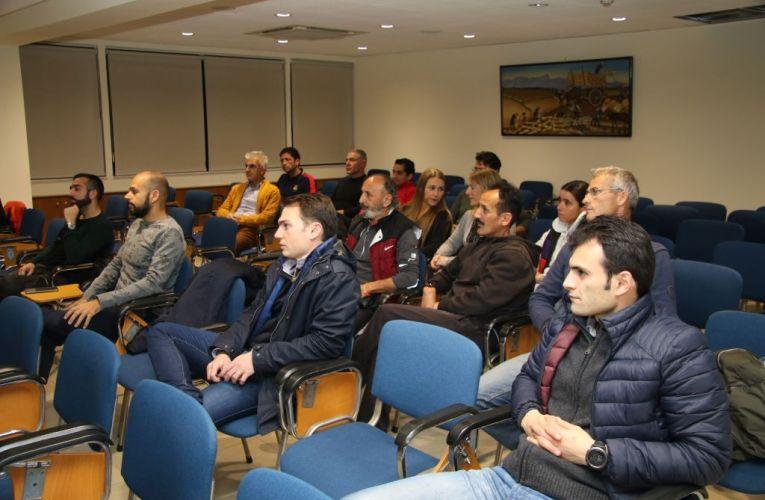 Το νέο Διοικητικό Συμβούλιο του Σωματείου Δρομέων Πάφου 'Στέλιος Κυριακίδης'